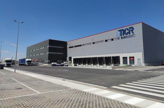 Almacén y oficinas de MCR en Getafe.