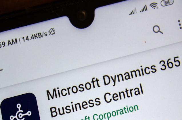 Microsoft Dynamics 365 Business Central.