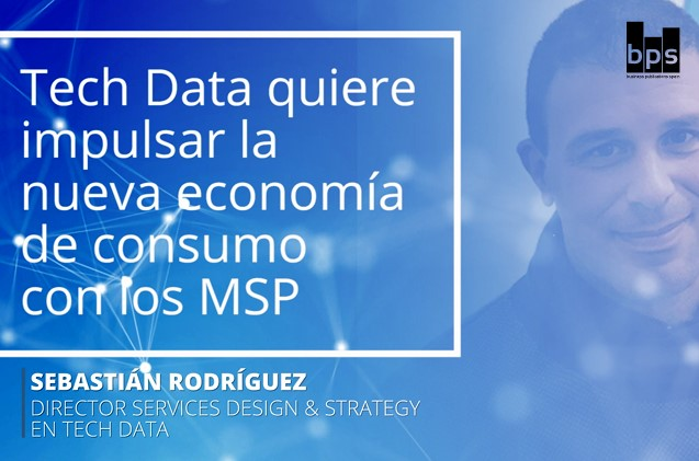 Sebastián Rodríguez, Director Services Design & Strategy en Tech Data