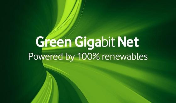 La red de Vodafone en Europa será 100% ecológica.