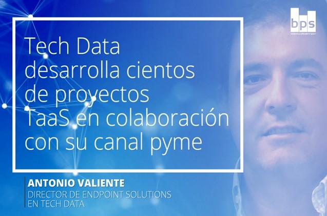 Antonio Valiente, director de Endpoint Solutions en Tech Data