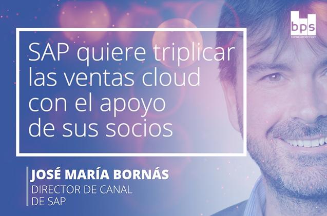 Carátula José María Bornás, director de canal de SAP