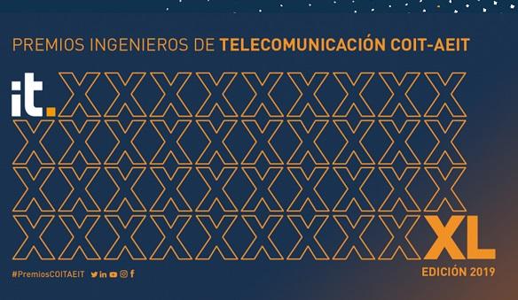 Ganadores de la XL edición de los Premios Ingenieros de Telecomunicación.