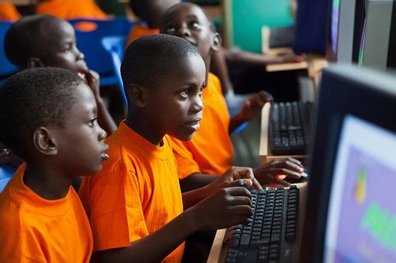 Mapa mundial de conectividad de Internet en las escuelas: acuerdo Ericsson y UNICEF.