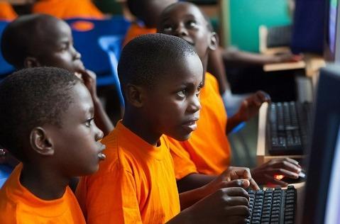 Mapa mundial de conectividad de Internet en las escuelas.