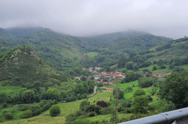 Pueblo asturiano de Morcín