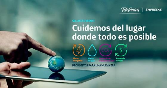 Digitalización y teletrabajo, grandes aliados medioambientales de Telefónica.