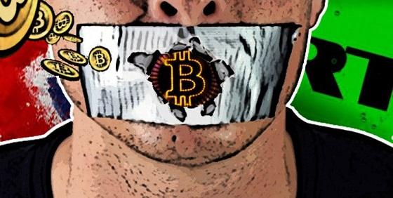 Censura en Internet a las criptomonedas?