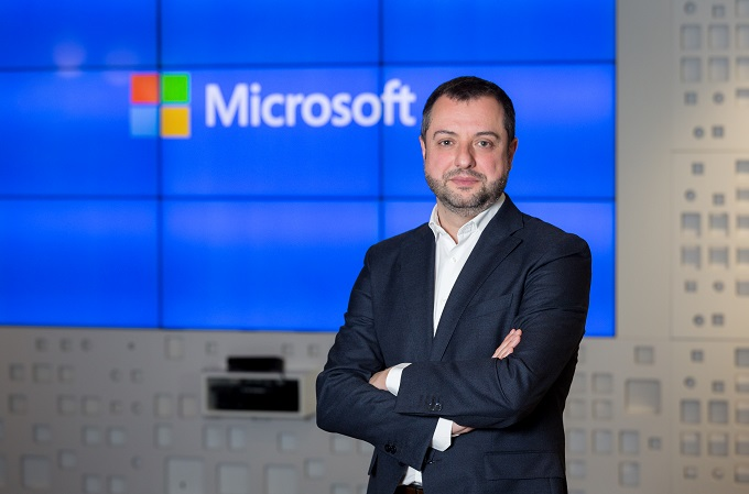 David Hernández, Director del área de Empresas de Microsoft Ibérica.