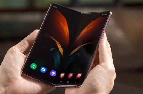 Smartphone Samsung Galaxy Fold2.