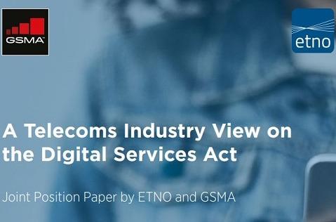 Las telco apoyan la creación de una Ley de Servicios Digitales.