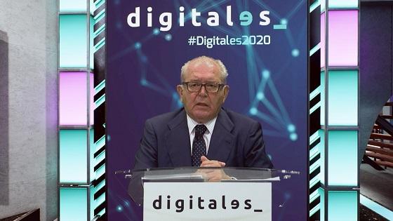 Eduardo Serra, presidente de la Asociación DigitalES, durante Summit 2020.