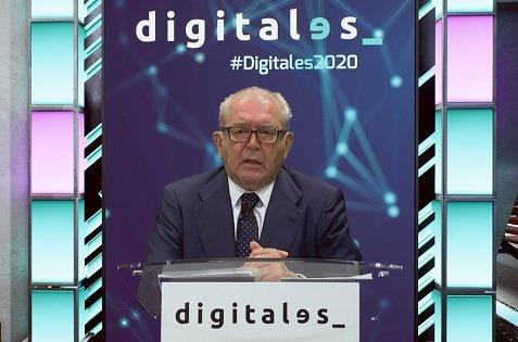Eduardo Serra, presidente de DigitalES durante el Summit 2020.