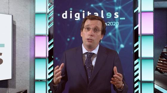 José Luis Martínez-Almeida, alcalde de Madrid, durante DigitalES Summit 2020.