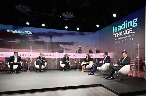 Mesa sobre cómo la tecnología puede ayudar a reconstruir la competitividad española. Digitales Summit 2020