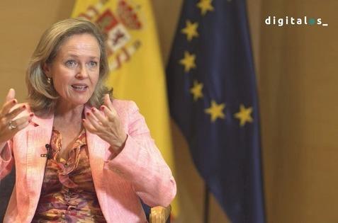 Nadia Calviño en DigitalES.