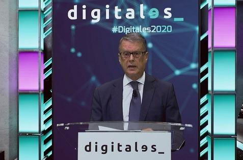 Roberto Sánchez, secretario de Estado de Telecomunicaciones, en Digitales Summit 2020.