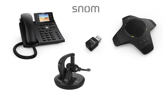 Equipos de comunicaciones de Snom.