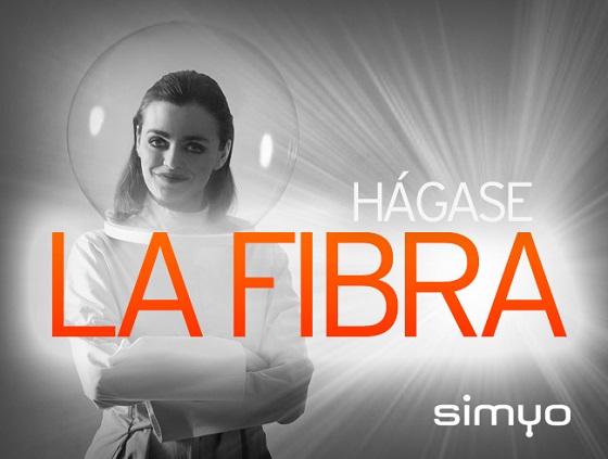 Simyo estrena su servicio de fibra.