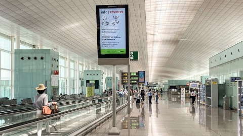 Aeropuerto Josep Tarradellas Barcelona - El Prat.