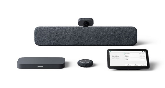 Kits de salas de reuniones Google Meet de Lenovo.