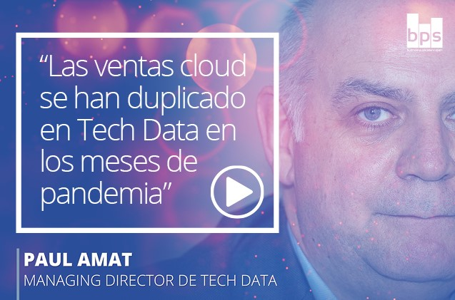 Pauli Amat, managing director de Tech Data