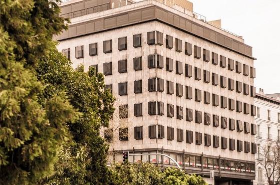 Edificio que alberga oficinas del despacho EJASO.