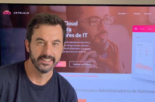 David Amorín, CEO de Jotelulu.