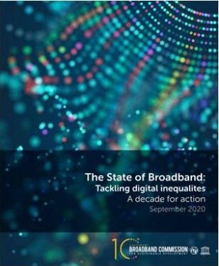 Estado de la banda ancha en el mundo: desigualdades digitales.