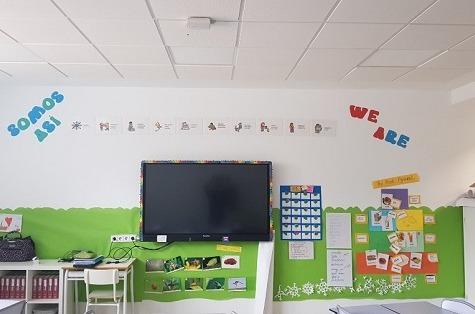 Wi-Fi de última generación en el Colegio Liceo Europeo de Madrid.