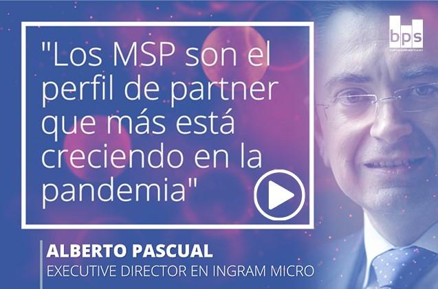 Carátula Alberto Pascual, Ingram Micro