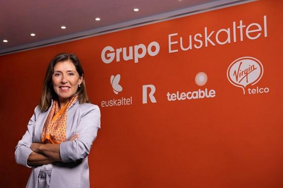 Beatriz Mato, consejera delegada del Grupo Euskaltel.