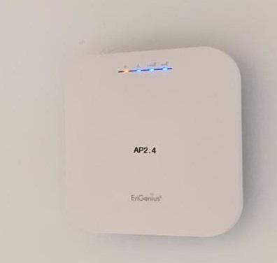 Se instalaron en tiempo récord un total de 19 puntos de accesos Wi-Fi6