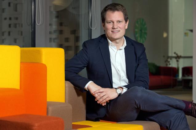 Antonio Budia, en las oficinas de Microsoft.