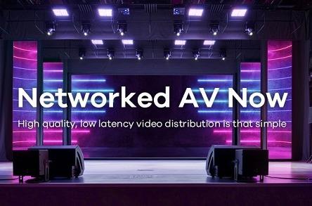AV sobre IP end-to-end.