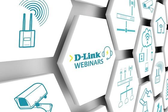 Webinars gratuitos de D-Link sobre redes y comunicaciones