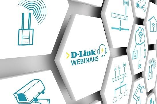 Webinars D-Link sobre redes y comunicaciones.