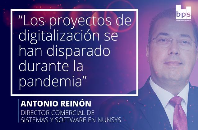 Antonio Reinón, director comercial de Nunsys