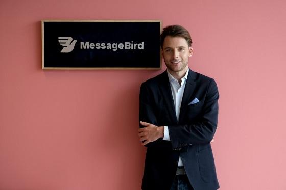 Robert Vis, fundador y CEO de MessageBird.