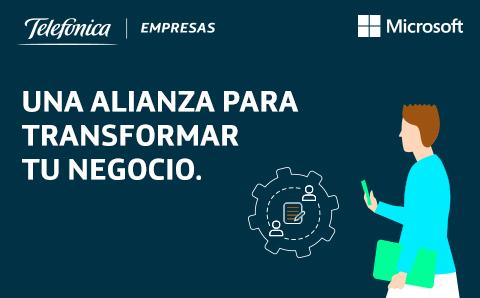 Telefónica amplía su acuerdo con Microsoft.