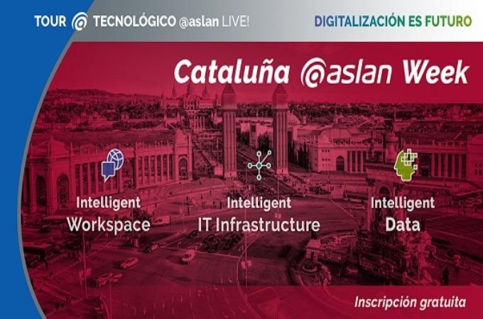 Digitalización es futuro: en octubre llega la Cataluña @aslan Week.