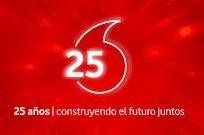 Vodafone España cumple 25 años.