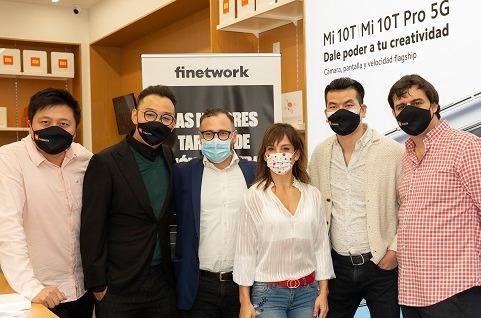 Finetwork se convierte en operador exclusivo de las Mi Stores.