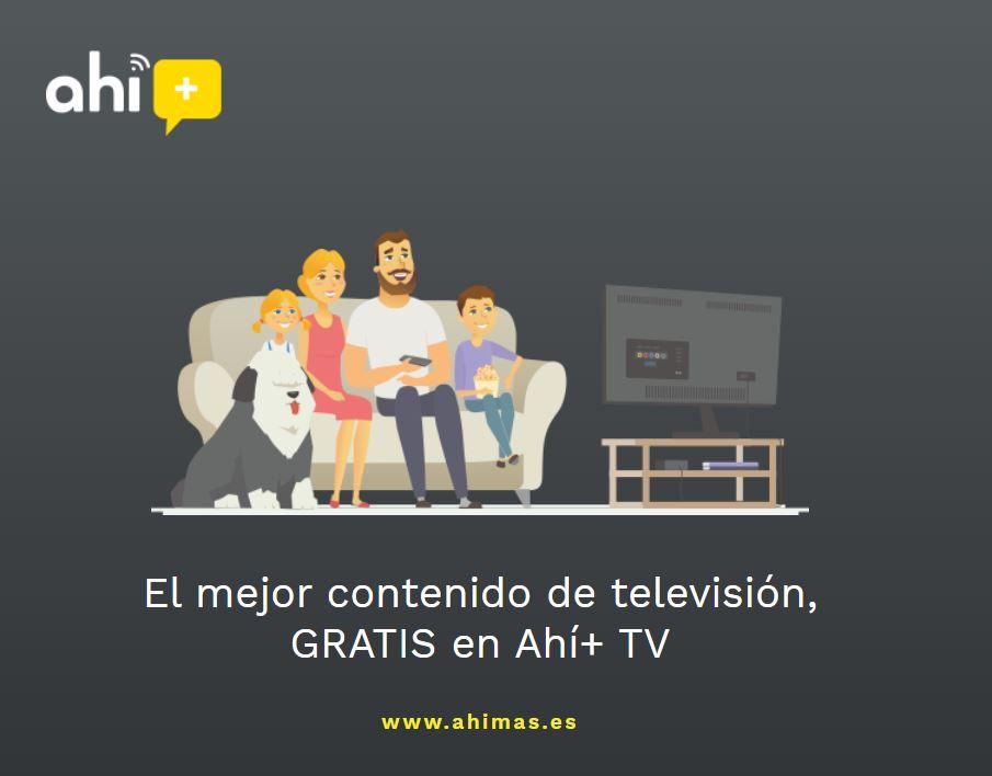 Ahimas regala la TV a sus clientes.