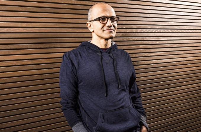 Satya Nadella, CEO mundial de Microsoft