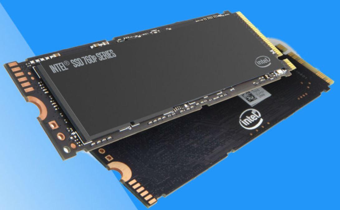 Memorias SSD de Intel.