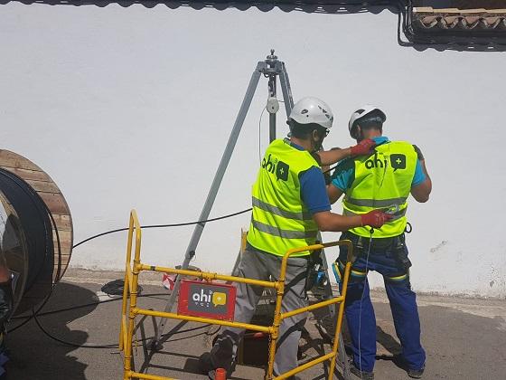 Ahimas invierte 700.000 euros para conectar Jaén.