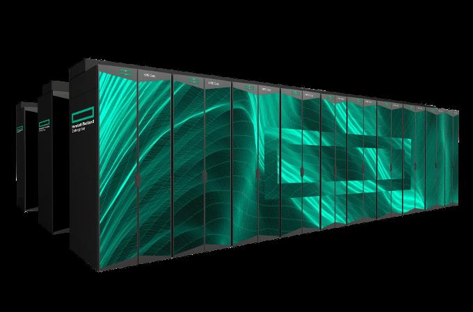 Supercomputadora HPE.
