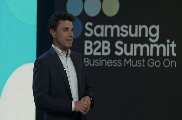 David Alonso, enterprise business director de Samsung