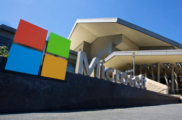Oficinas centrales de Microsoft en Redmond EEUU.